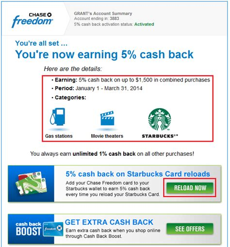Chase Freedom Gas Station Gift Cards - my new chase freedom visa signature came with chase blink visa paywave nfc chip