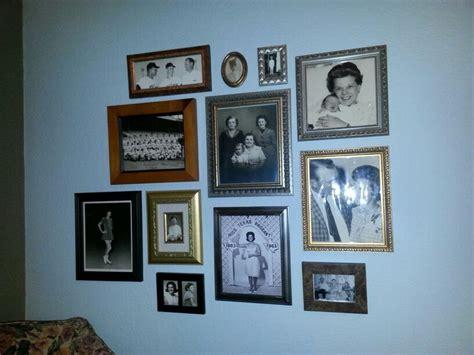 photo wall family photo wall 1 home hearth