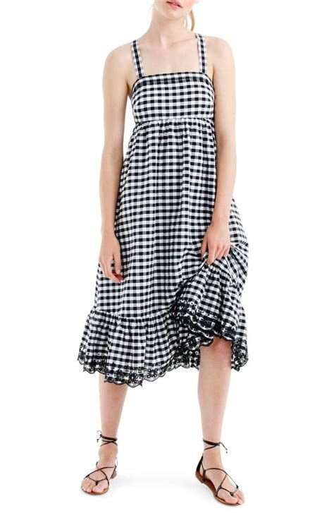Trends For Summer Eyelet Accents When You Just Cant Commit Second Cty Style Fashion by The Best Gingham Dresses For Summer 2017 In Every Style