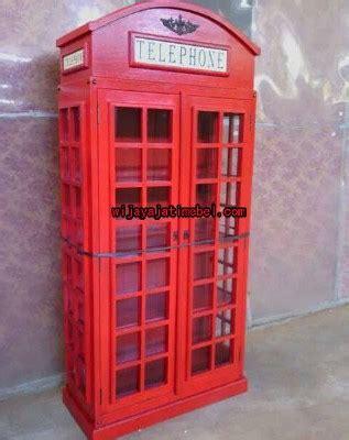 Lemari Telepon Inggris lemari pajangan desain lemari telepon eropa ukuran