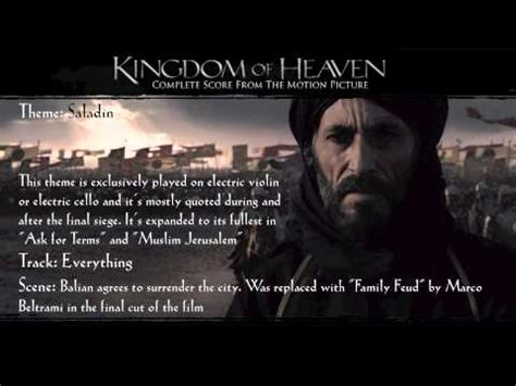 Themes Kingdom Of Heaven | video clip hay kingdom of heaven ost recording sessions