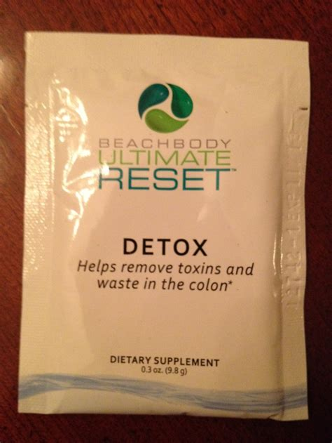 Ultimate Reset Detox Drink by How To Take The Detox Element Of The Ultimate Reset Not