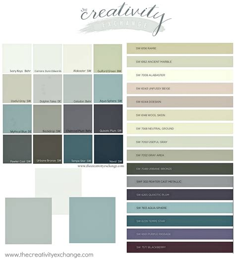 2017 trending colors 2016 paint color forecasts and trends