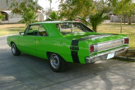 Lime Green Front Door 1967 dodge dart 2 door hardtop 117098