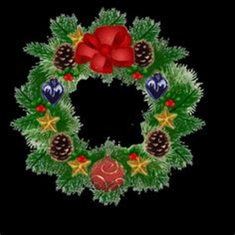 funny animated christmas wreaths garland blinking lights gif animated rope motif light