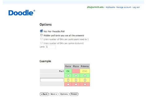 doodle poll outlook scheduling tools doodle and more