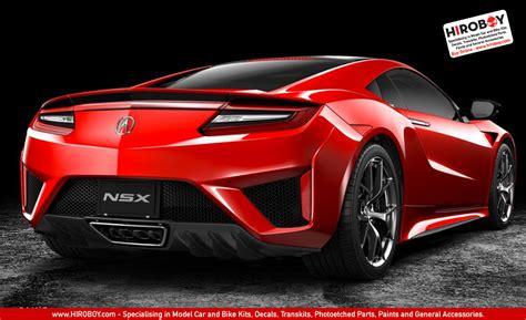 51586 Tamiya Honda Acura Nsx 2016 Set 1 24 honda nsx acura 2016 model kit 24344 tam24344 tamiya