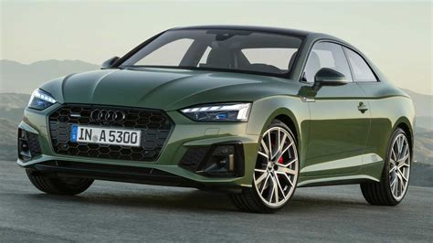 2020 audi a5 coupe 2020 audi a5 debuts subtle facelift s5 gets diesel in europe