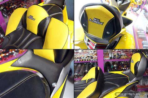 Jok Nmax Mbtech Riders yamaha nmax transformer mbtech