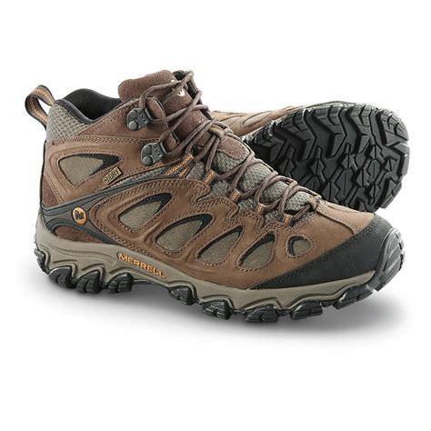 merrell pulsate waterproof mid hiking boots 621704