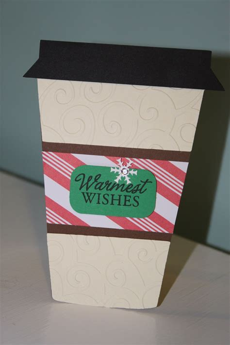 Cricut Gift Cards - coffee gift card holder christmas created with love you a latte cricut cartridge