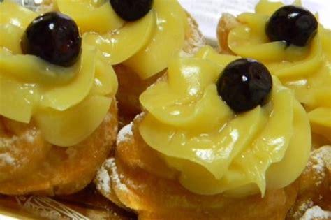 ricette di cucina napoletana ricetta zeppole di san giuseppe cucina napoletana