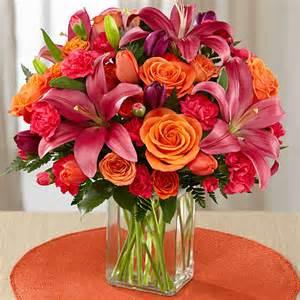 Flower Delivery Aurora Colorado - always true bouquet orange tulips pink tulips pink