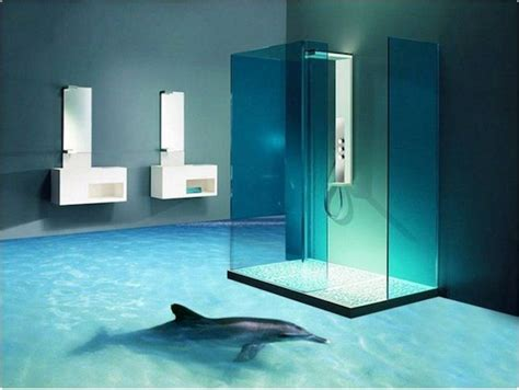 3d painting bathroom floor your guide for 3d epoxy flooring and 3d bathroom floor