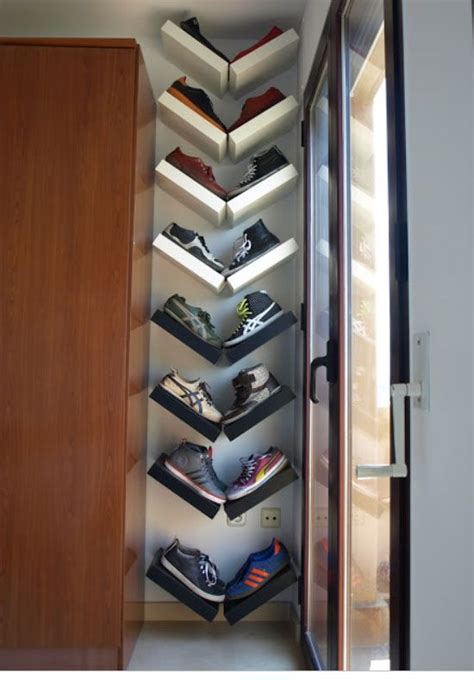 How To Make Shoe Shelves In Closet by 18 Diy Shoe Storage Ideas For Small Spaces Closet Shape