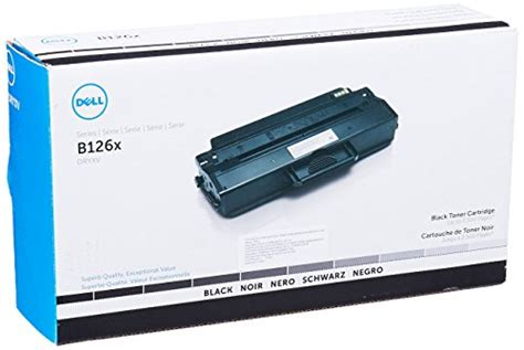 dell yk1pm 1 500 pages black toner cartridge for b1165nfw laser printer merotx