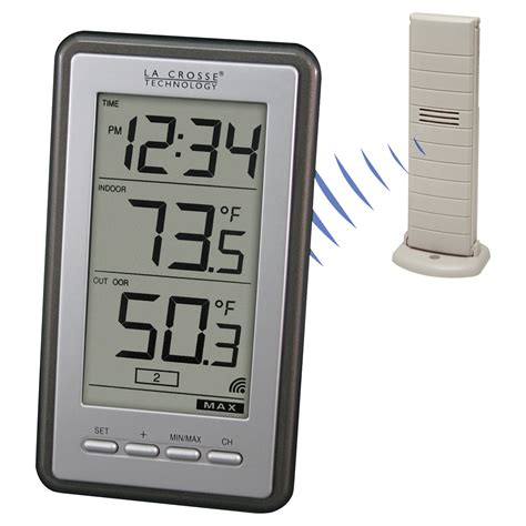 lacrosse technology wireless thermometer model ws 9160u it weather instruments northern