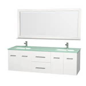Bathroom Vanity With Bowl Sink Wyndham Collection Centra 72 Inch Bowl Bathroom Vanity Set With Undermount Sink