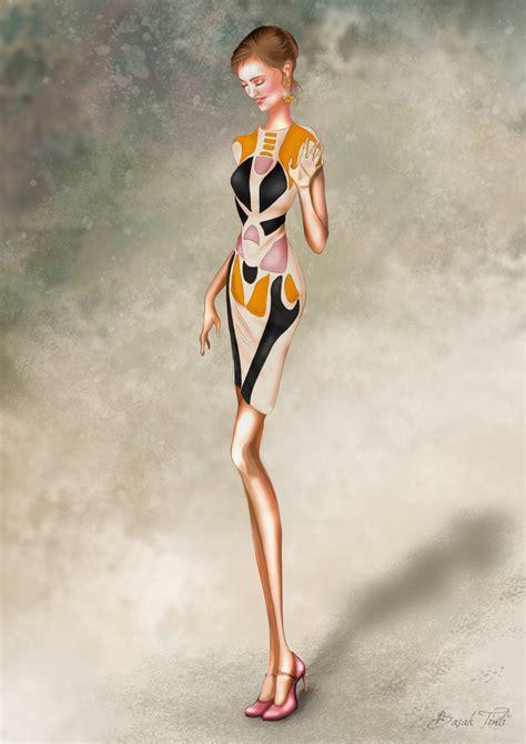 fashionillustrators deviantart fashion illustration by basaktinli on deviantart