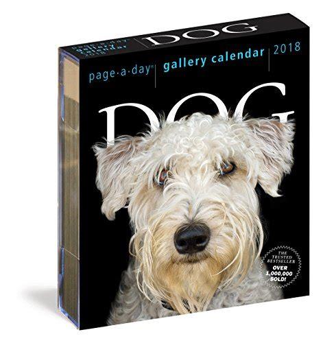 365 dogs page a day calendar 0761193952 365 dogs page a day calendar 2018 sales up