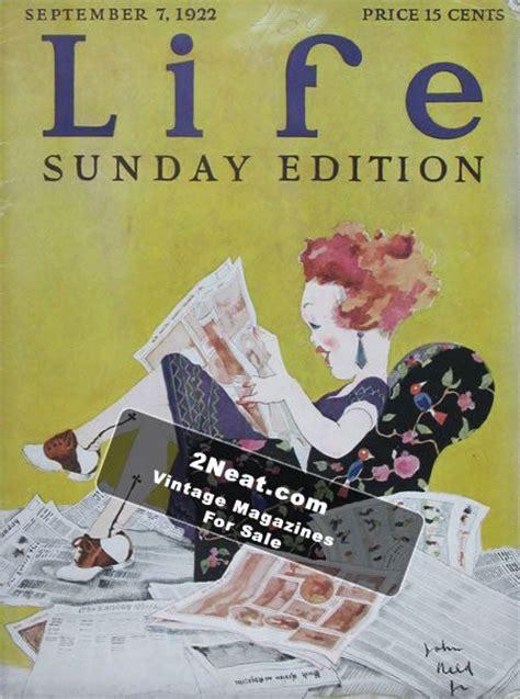magazine biography exle for sale life magazine september 7 1922 2079