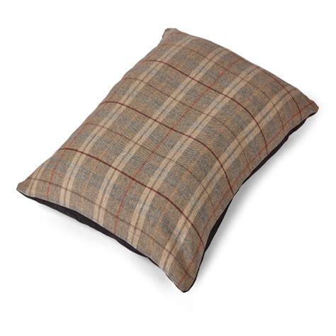 tweed wool mattress bed grey