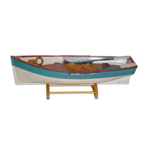 wooden row boat decor homenice supply holiday deco nautical deco christmas