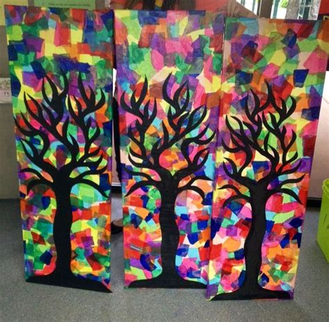 Paper Craft Classes - 1000 ideas about tissue paper trees on tissue