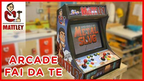 costruire cabinato arcade tutorial come costruire un bartop o cabinato arcade fai