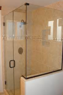 how to install a frameless glass shower door what to before buying a frameless glass shower door
