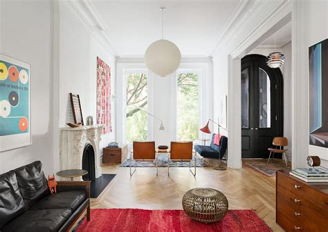 home interior design brooklyn restored brooklyn brownstone house with fresh contemporary