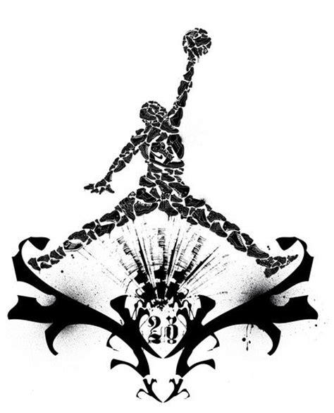 jordan logo tattoo designs air logo free clipart best