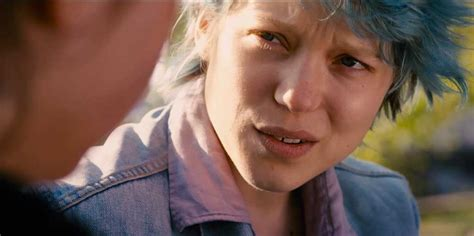 blue nc 17 exclusive new poster for blue is the warmest colour the
