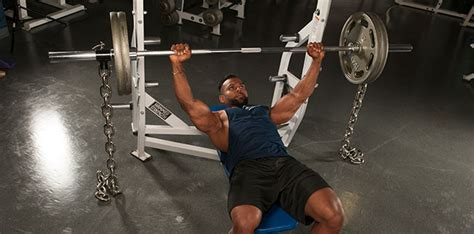 chains on bench press add 50 pounds to your bench press muscletech