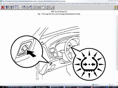 toyota corolla pressure warning light toyota free engine image for user manual download