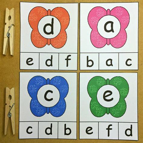 printable alphabet matching cards weekly printable may 18th 22nd