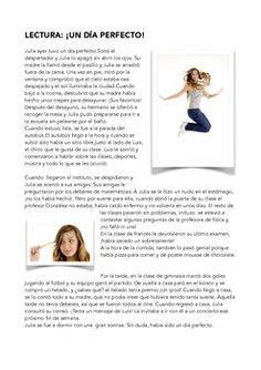 lecturas en presente simple con preguntas spanish reading lectura rutina diaria daily routine la