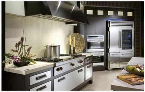 sub zero kitchen design интериорен дизайн и декорация идеи за осветление в кухнята