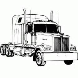 Wheels Truck Coloring Pages Free Coloring Pages Of 10 Wheeler Truck