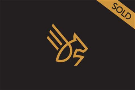 pegasus logo design for sale
