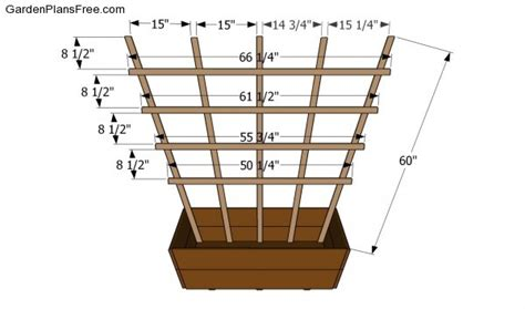 Trellis Plans Free free trellis plans free garden plans how to build