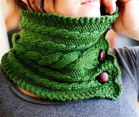 knitted neck warmer 5 stylish neck warmer knitting patterns