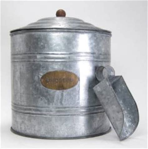 galvanized seed galvanized bird seed storage container with seed scoop