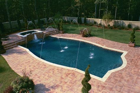 nice pool quot sharp quot pool shape very nice awesome inground pool