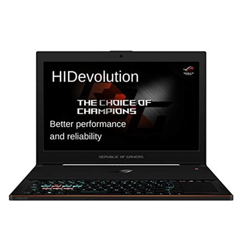 Asus 15 6 Inch Laptop Best Buy hidevolution asus rog zephyrus gx501vs 15 6 inch gaming laptop 2 8 ghz i7 7700hq gtx 1070 max