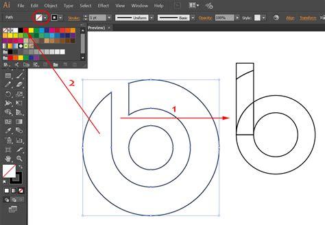 cara membuat logo line cara mudah membuat logo beats by dr dre dengan illustrator