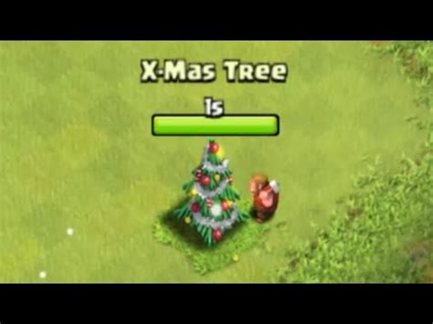 in coc xmas tree in 2016 quot removing 2015 tree quot clash of clans what do the coc 2014 winter tree presents