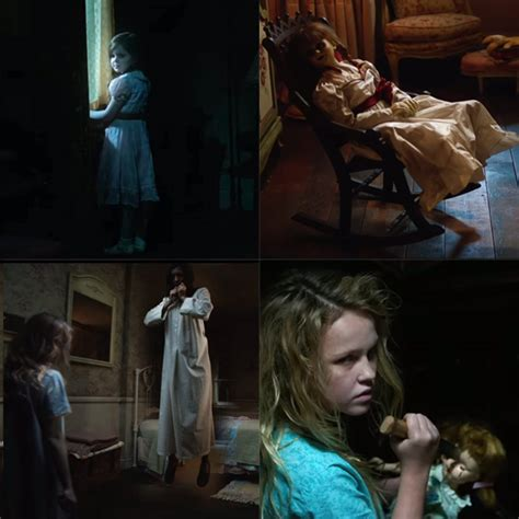 annabelle doll trailer annabelle creation trailer 2 the diabolical doll returns