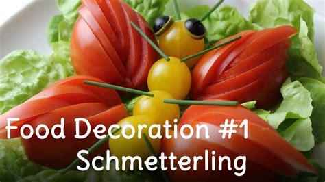 Salat Dekorieren by Beilagensalat Salat Dekorieren 1 Schmetterling Aus