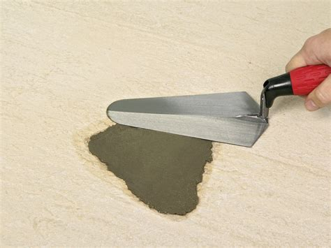 repair holes  concrete floors  tos diy